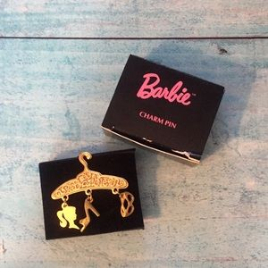 Vintage Barbie Gold Pin